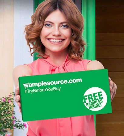SampleSource.com sends free stuff by mail